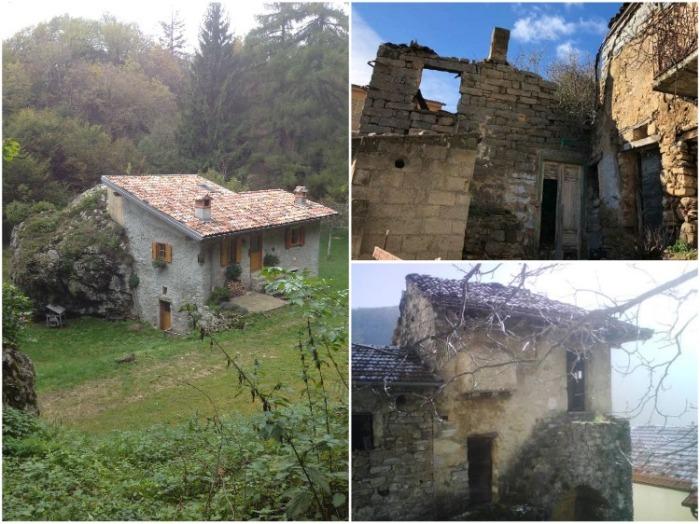По всей Италии найдется более 2 млн. заброшенных и обветшалых домов. | Фото: expert.ru.