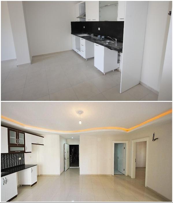 В Турции квартиры на первичном рынке продают только с чистовой отделкой и встроенной кухней. | Фото: myhome-turkey.com/ orionalanya.com.