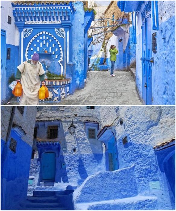 Шефшауэн, Марокко. | Фото: planetholidaystravel.com.