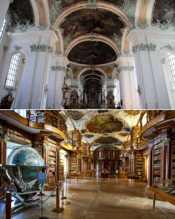 Монастырь Святого Галла в Швейцарии является уникальным памятником истории, религии, культуры и архитектуры. | Фото: putidorogi-nn.ru.