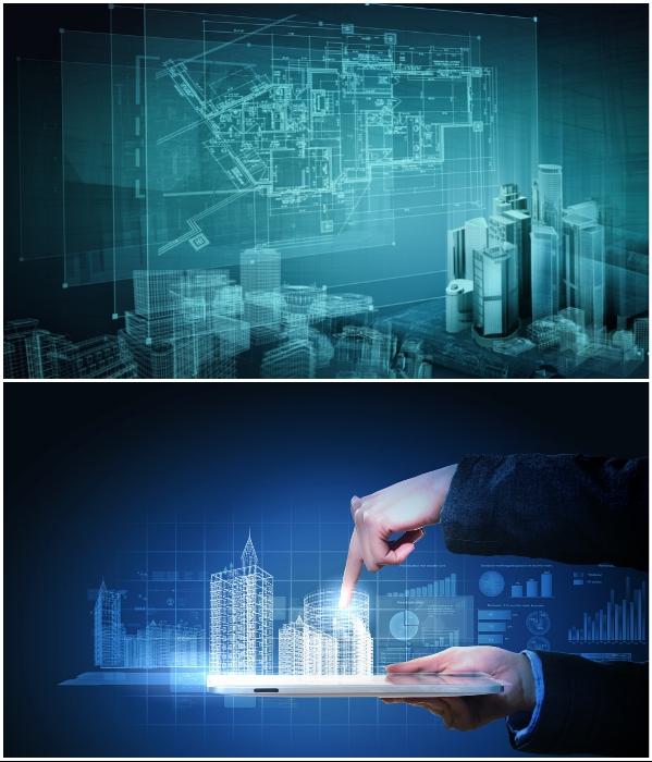 Интеллектуальные системы в ближайшем будущем смогут управлять всеми городскими коммуникациями. | Фото: budport.com.ua/ fi.pinterest.com.