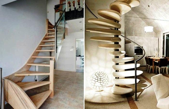 «Прозрачные» пролеты лестницы обеспечивают беспрепятственное проникновение света и воздуха. | Фото: vespig.wordpress.com.