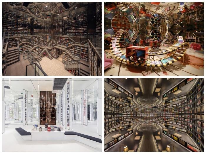 Самый удивительный книжный магазин-библиотека открылся в Ханчжоу (Китай).