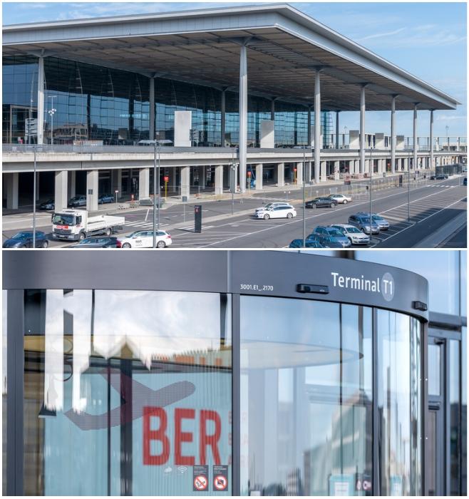 Несмотря на колоссальные финансовые и временные затраты, аэровокзал экстерьером не порадовал ни немцев, ни пассажиров.