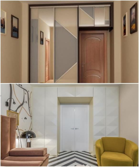 Максимальное использование вертикальной плоскости поможет освободить напольное пространство. | Фото: bezkovrov.com.
