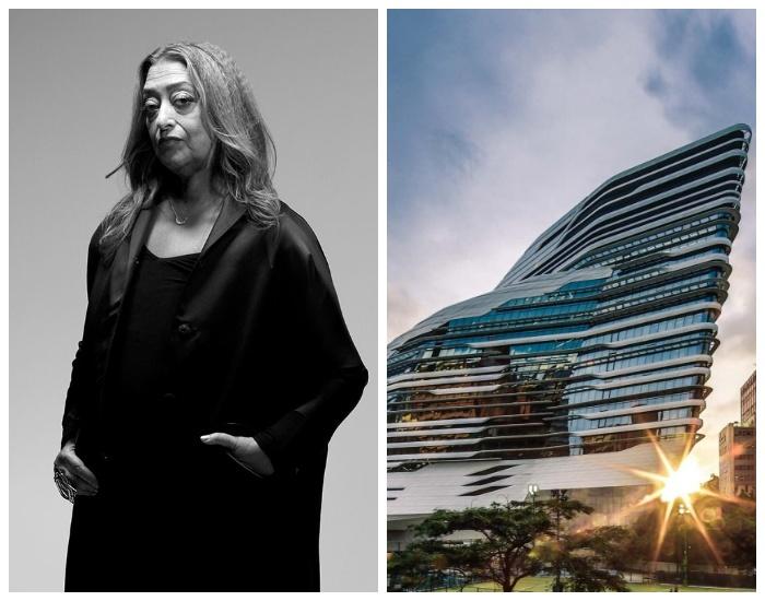 Заха Хадид и ее проект Политехнического университета в Гонконге. | Фото: womo.ua.