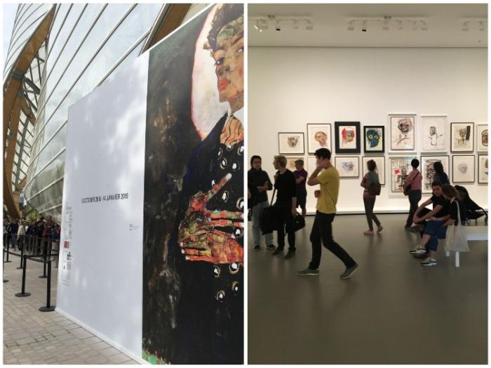 В Fondation Louis Vuitton постоянно проходят выставки работ современных художников. | Фото: vogue.ua.