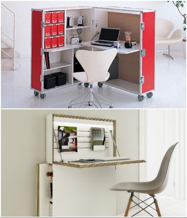 Скрытые возможности трансформирующейся мебели. | Фото: thedigitalistas.com/ design-remont.info.