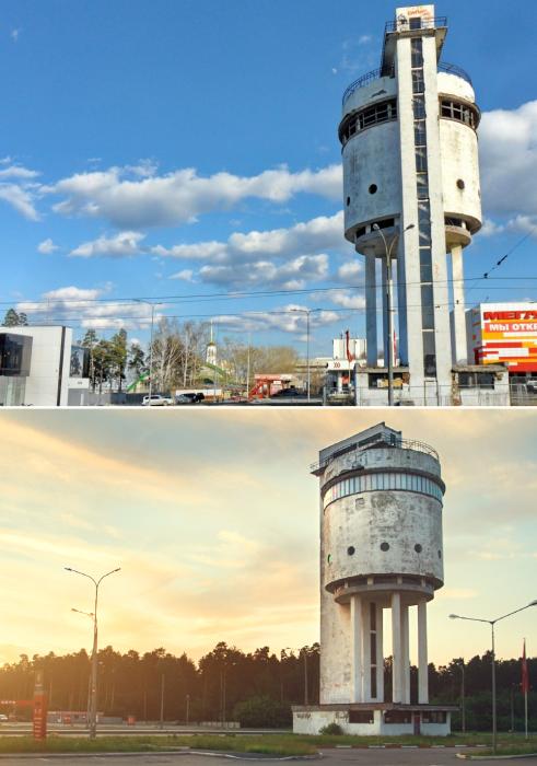 Жители Екатеринбурга стремятся вернуть былую славу «Белой башне». | Фото: architectureguru.ru/ archlikbez.ru.