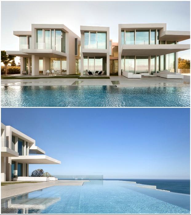 «Прозрачный» дом Casa Sardinera с фантастическим видом на Средиземное море (Аликанте, Испания).