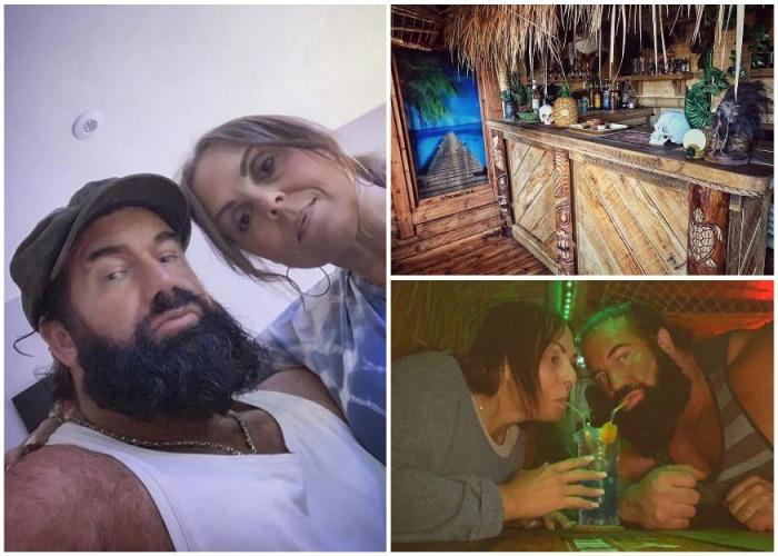 Теперь пара даже не стремится никуда уезжать из дома, предпочитая отдыхать в своем тропическом саду. | Фото: instagram.com.
