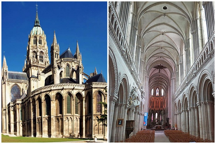 Собор Пресвятой Богородицы начала XI в. (Bayeux, Франция).