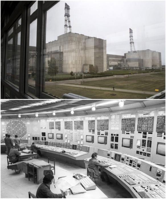 Все натурные съемки внутренних помещений проходили на Игналинской атомной электростанции в Литве. | Фото: youtube.com.
