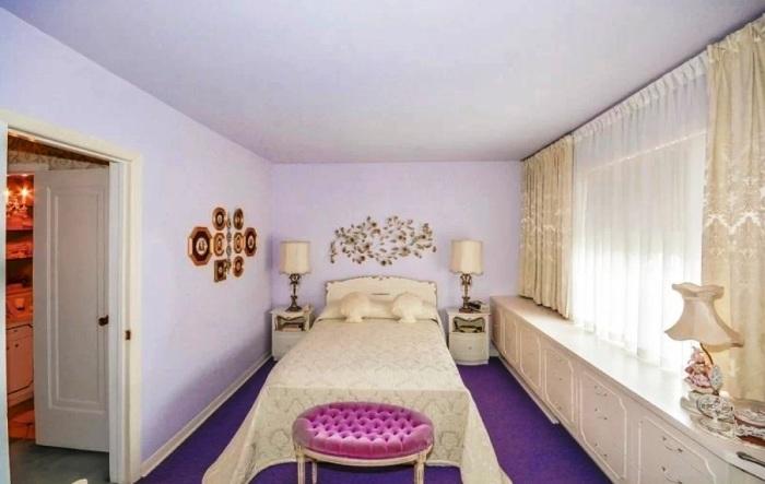 В хозяйской спальне идеально сочетается роскошь и минимализм. | Фото: bastanteinteressante.org.