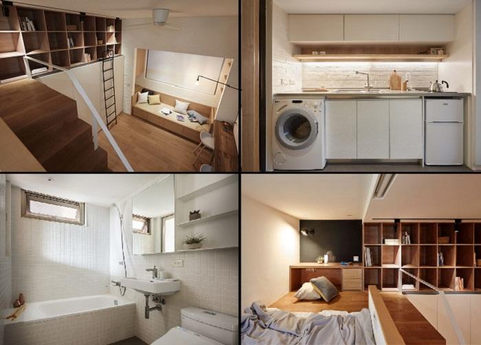 Даже на маленькой площади можно создать уютное жилье.