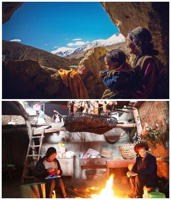 Местные жители довольны своим существование и не собираются покидать родную деревню (Чжундун, Китай). | Фото: epochtimes.ru.