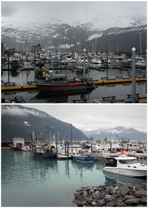 Оставшиеся горожане в основном занимаются рыболовецким промыслом (Уиттиер, Аляска). | Фото: nat-geo.ru.