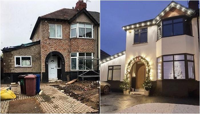 Перемены во внешнем виде дома действительно впечатляют (Ливерпуль, Великобритания). | Фото: © home_at_threefourfive.