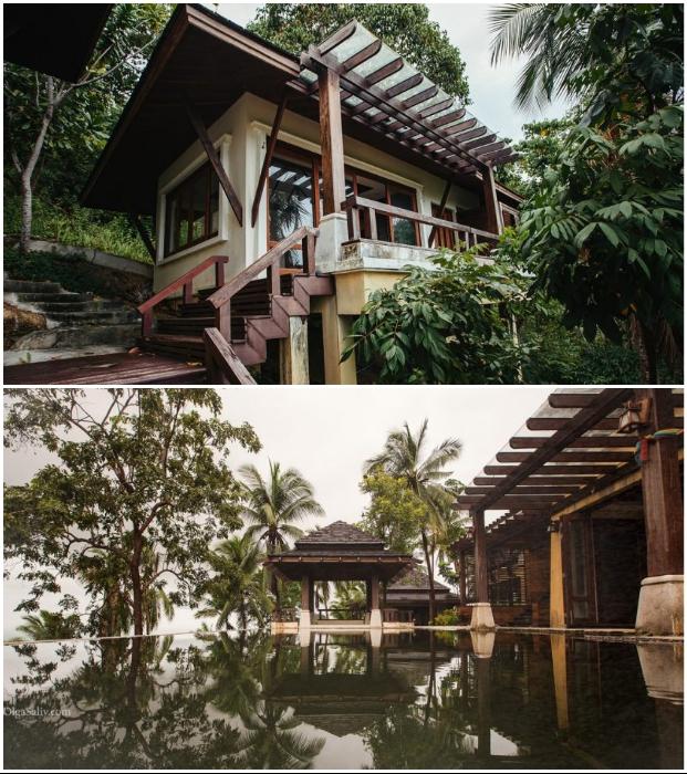 Заброшенная Luxury Villa находится в диких джунглях острова Самуи (Таиланд).