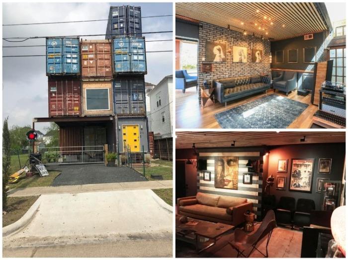 Дизайнер построил впечатляющий 4 этажный дом из обычных транспортных контейнеров. instagram.com/ mcgowencontainerhouse.