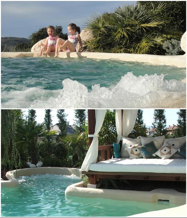 Не скользкие борта и дно бассейна будут безопасными даже для маленьких детей. | Фото: awesomeinventions.com/ twentytwowords.com.