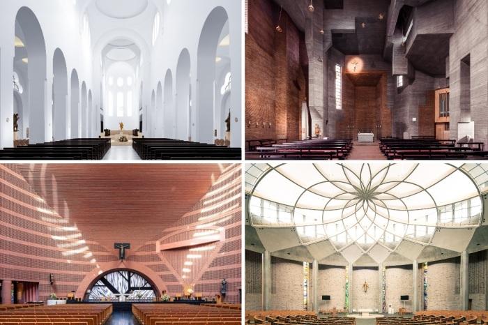 Монументальное величие и минимализм – отличительная черта современной культовой архитектуры. | Фото: ©Thibaud Poirier.