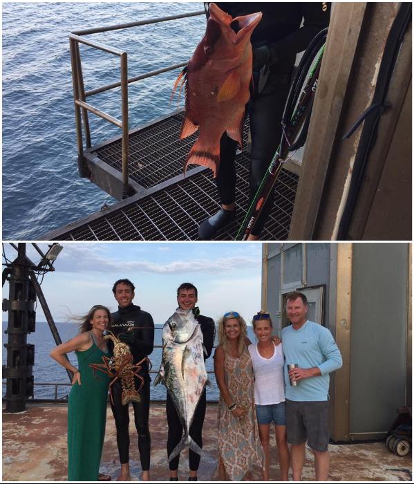Улов всегда отменный и привирать о размере рыбе не приходится («The Frying Pan Tower», США). | Фото: facebook.com/ © Frying Pan Tower.