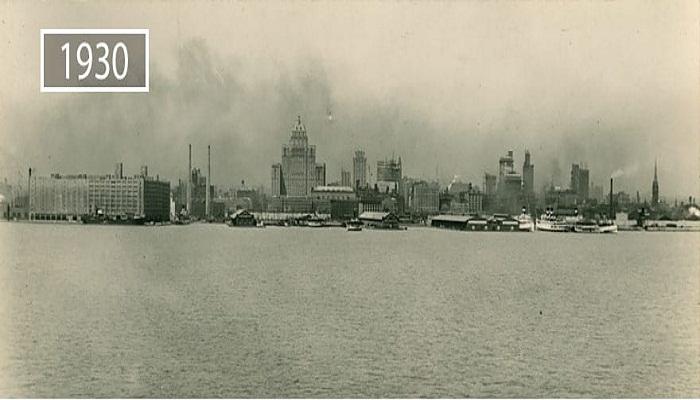 Торонто в тридцатые годы прошлого века.
