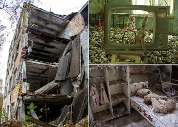 30-ти км. зона отчуждения с каждым годом все больше привлекает желающих увидеть застывший город и саму Чернобыльскую АЭС (Припять, Украина). | Фото: korrespondent.net.