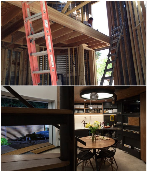 Все преобразования молодой архитектор делал сам (Феникс, штат Аризона). | Фото: intisari.grid.id.