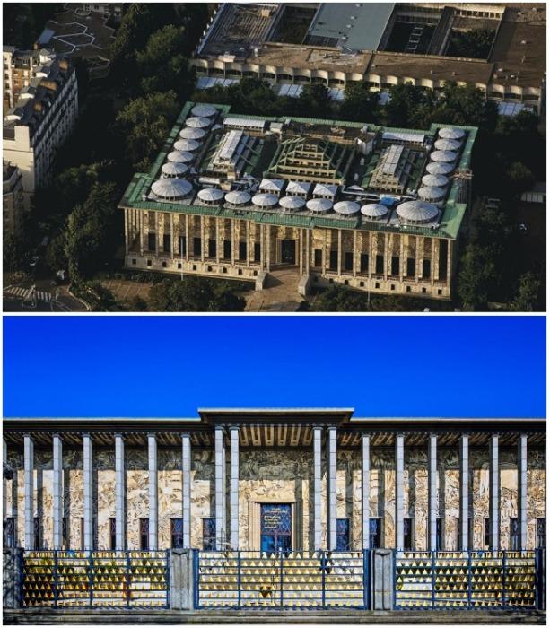 Дворец Порт-Доре (Le palais de la Porte Doree) — музейно-выставочный комплекс, расположенный на окраине Венсенского леса (Париж, Франция). | Фото: frenchparis.ru.