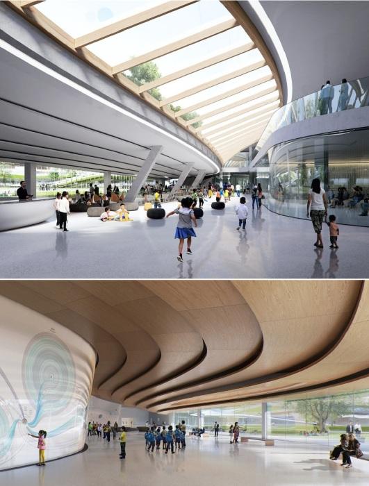 Архстудии MAD удалось создать городское пространство, доступное для всех жителей и гостей города Цзясин (концепт Jiaxing Civic Center).