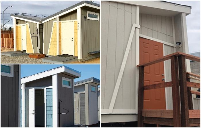 За два года власти Сан-Хосе потратили более 2,2 млн. дол. на строительство и полное обустройство 3 специализированных комплексов для бездомных. | Фото: bangphotos.smugmug.com/ california.comcast.com.