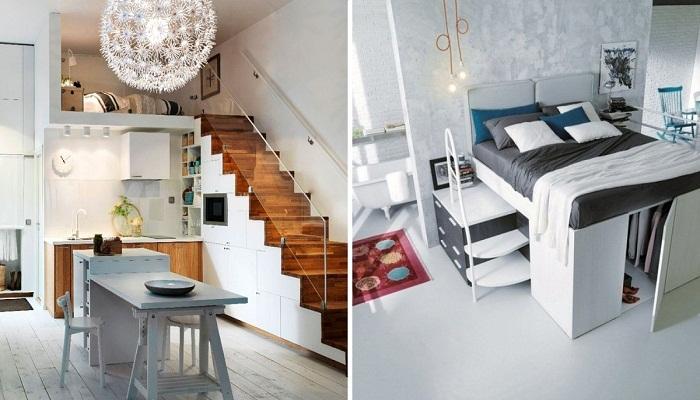 Благодаря разумной организации пространства и правильному выбору систем хранения можно создать комфортное жилье.