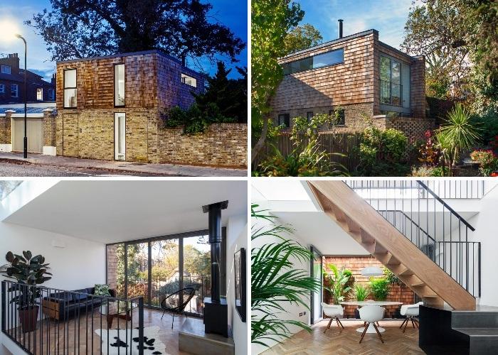 Дизайнер Марта Новицка превратила старый лондонский гараж в уникальные трехэтажные апартаменты под названием Gouse. | Фото: architectsjournal.co.uk.