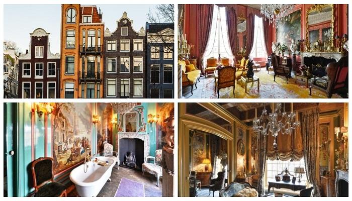 Старинный дом на улице Keizersgracht в Амстердаме был продан за 11 млн. долларов.