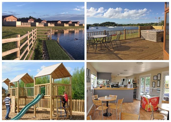 Для любителей отдыха в сельской местности владелец создал комфортные условия пребывания (Ream Hills Caravan Park, Великобритания).