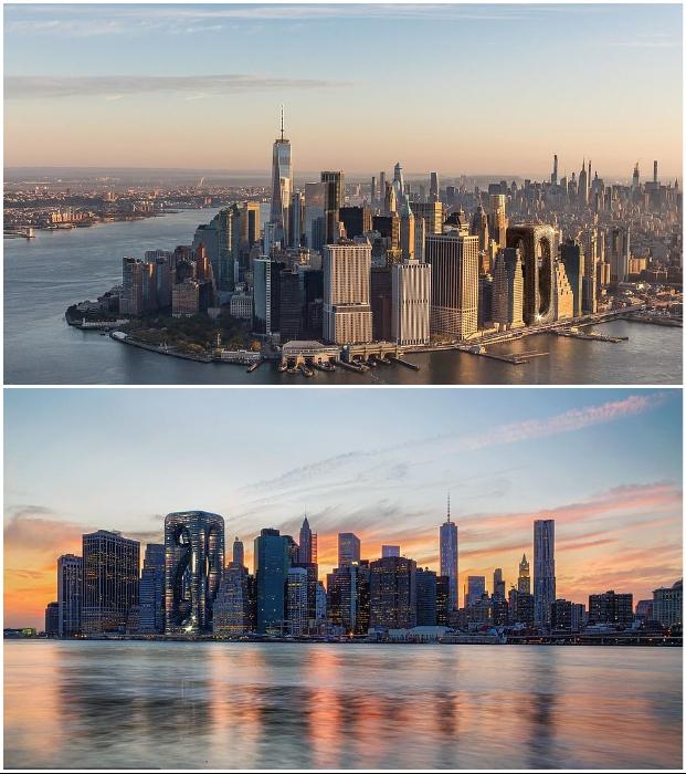 Небоскреб Sarcostyle Tower станет достойным объектом среди легендарных высоток Манхэттена, если решится вопрос со строительством.