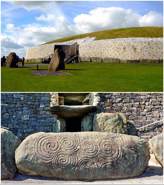 Легендарный ирландский курган Newgrange занесен в Список всемирного наследия ЮНЕСКО.