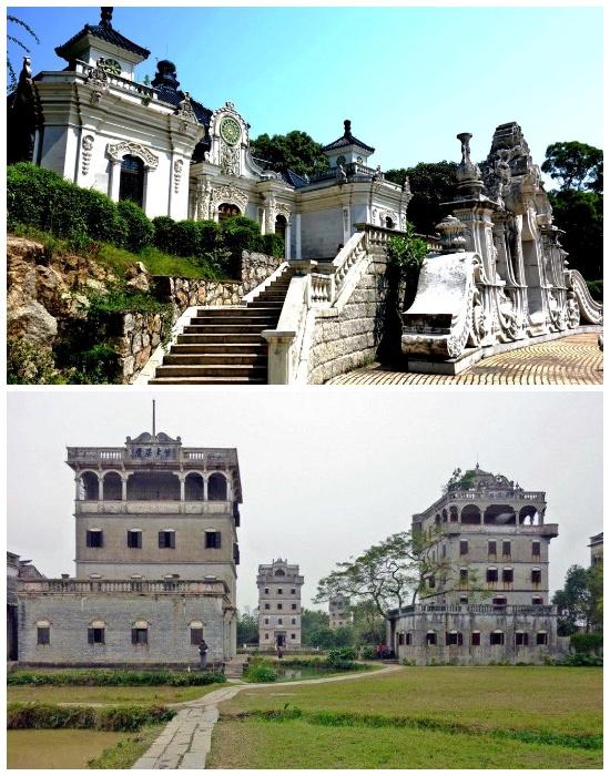 Возобновленное строительство личных крепостей сохранило основные принципы архитектуры (Кайпин, Китай). | Фото: liveinternet.ru.