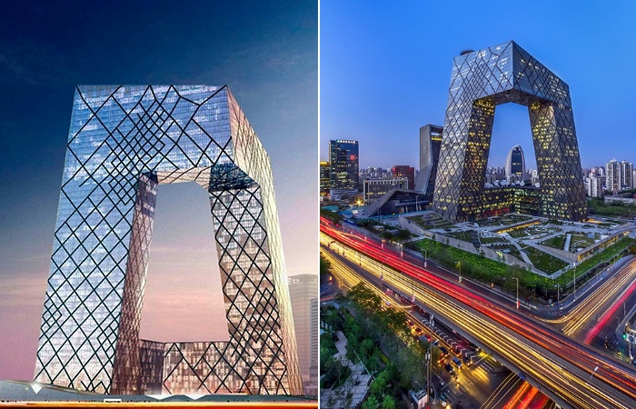 Штаб-квартира CCTV стала культурным центром Пекина (Китай). | Фото: tallbuildings.ru.