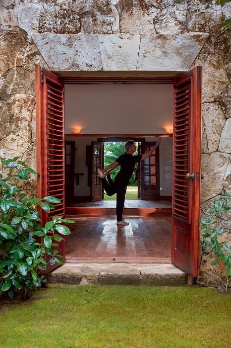 В проект дома была включена студия для занятий хореографией. | Фото: Тьяго Молинос (Tiago Molinos).