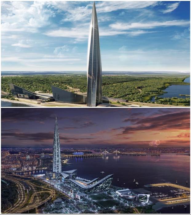 «Лахта-Центр» в Санкт-Петербурге назван лучшим небоскребом 2020 г.