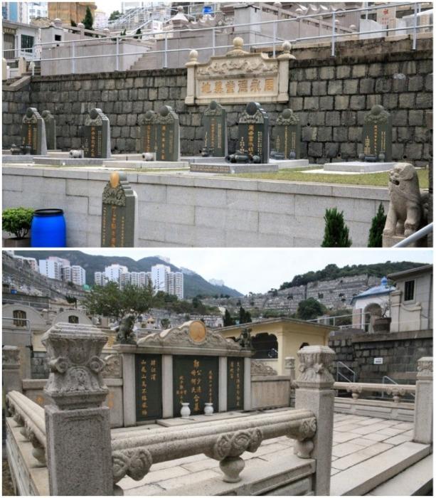 Абердинское национальное кладбище – единственное место, где соблюдены все традиции захоронения (Гонконг). | Фото: sindzidaisya.livejournal.com.