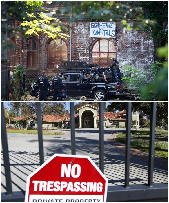 В Калифорнии больше всего случаев самовольного захвата домов, которые выставлены на продажу. | Фото: lenta.ru/ sandiegouniontribune.com.