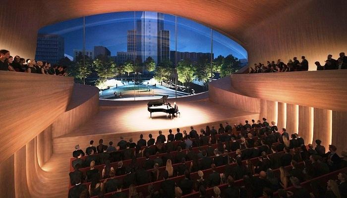 Зал камерной музыки рассчитан на 400 человек (Екатеринбург).