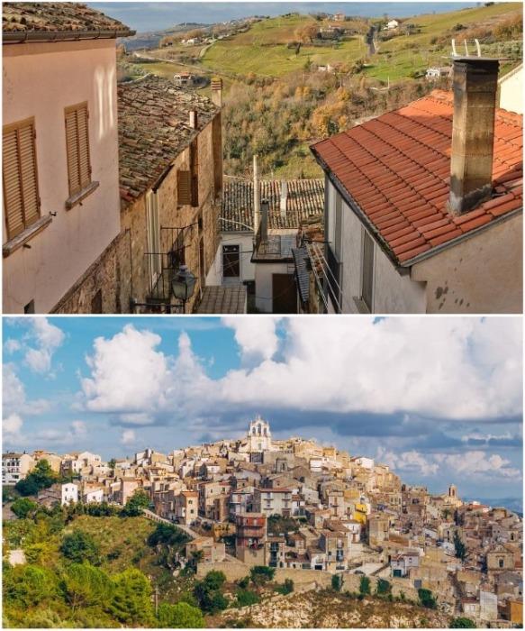 В скором времени в городе Муссомели планируют «подарить» еще 400 домов (Италия). | Фото: travels.co.ua.