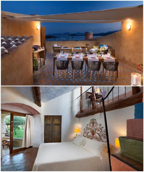 Чтобы вволю насладиться уединенным отдыхом в лучшем номере отеля Cala di Volpe, придется выложить 41 тыс. дол. в сутки (2,99 млн руб.)