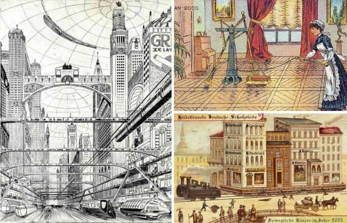 Захватывающие видения будущего более чем 100-летней давности.