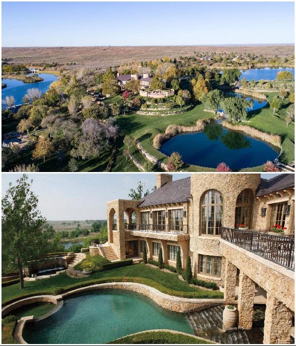 Ранчо «Mesa Vista» занимает значительно большую территорию, чем площадь некоторых техасских городов. | Фото: click2houston.com.